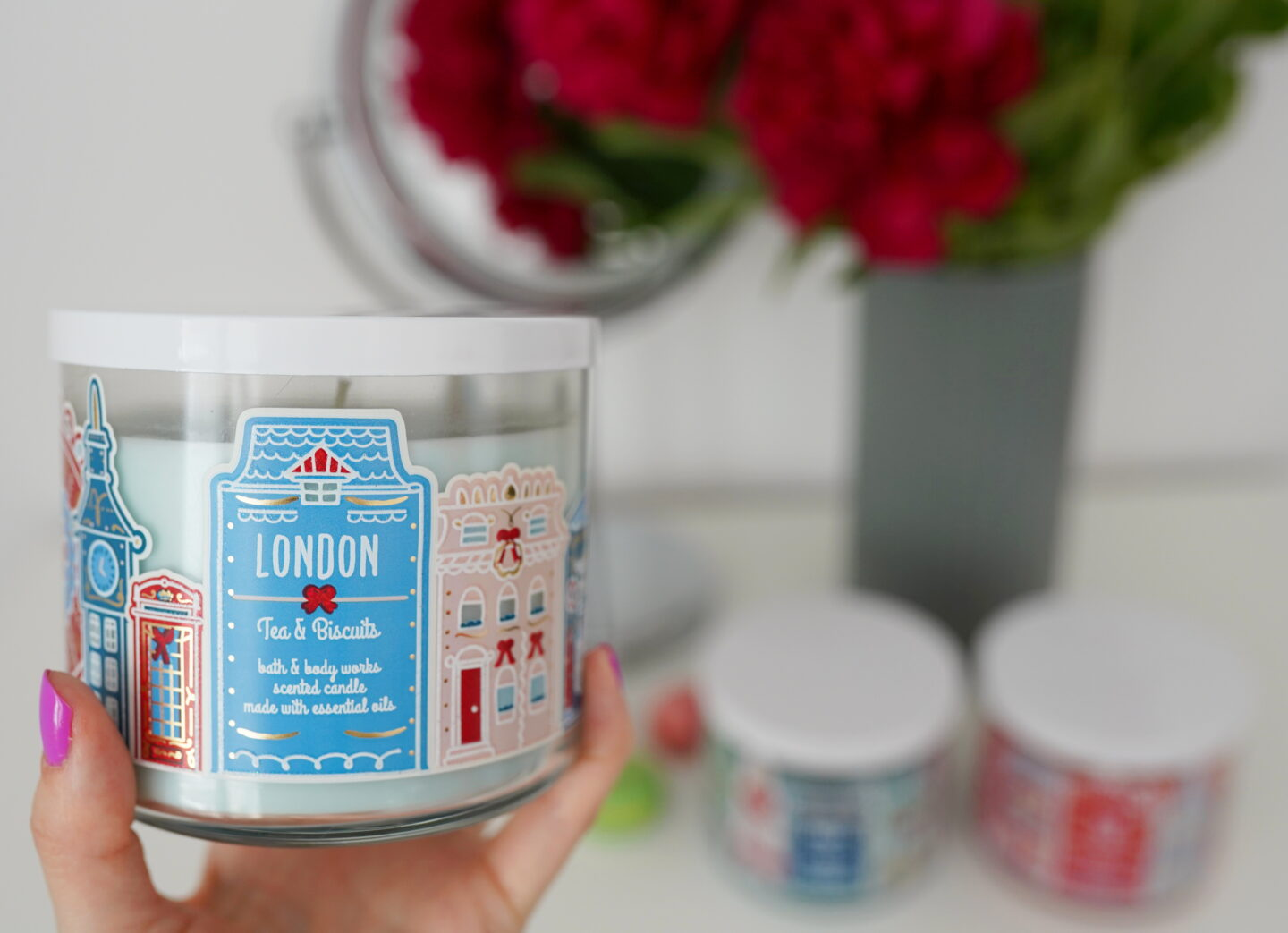 Sviečka Bath and Body Works Tea and Biscuits LONDON