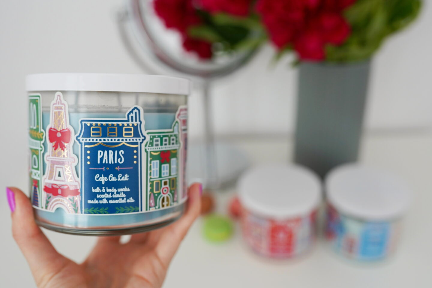 Sviečka Bath and Body works s vôňu Cafe au Lait PARIS