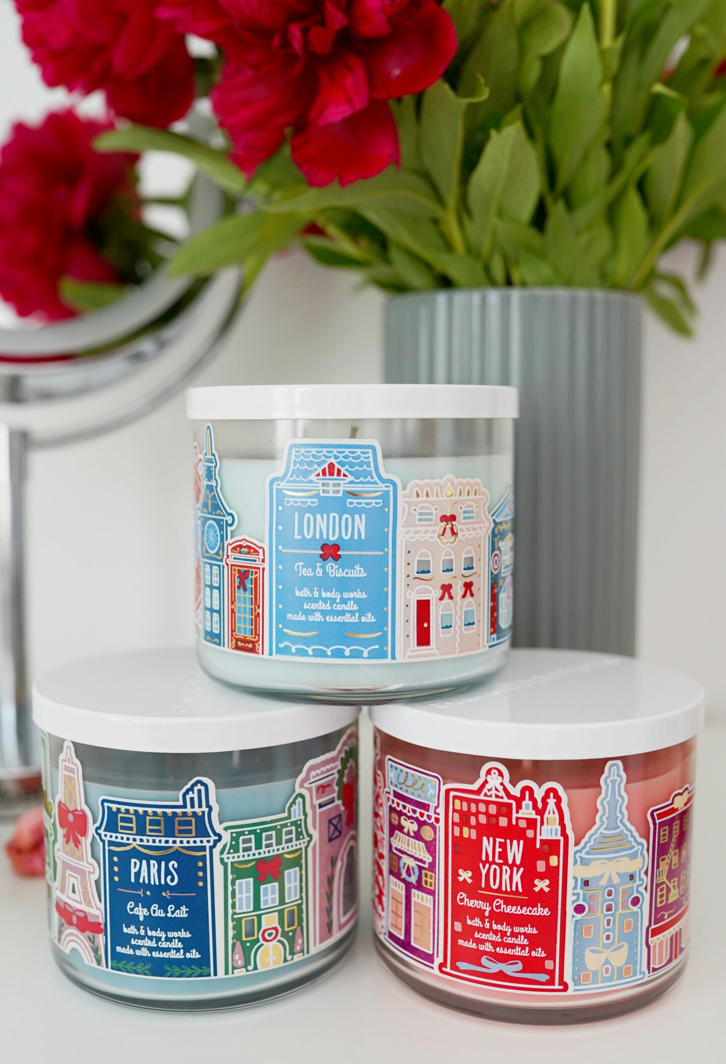 Americké sviečky Bath and Body works