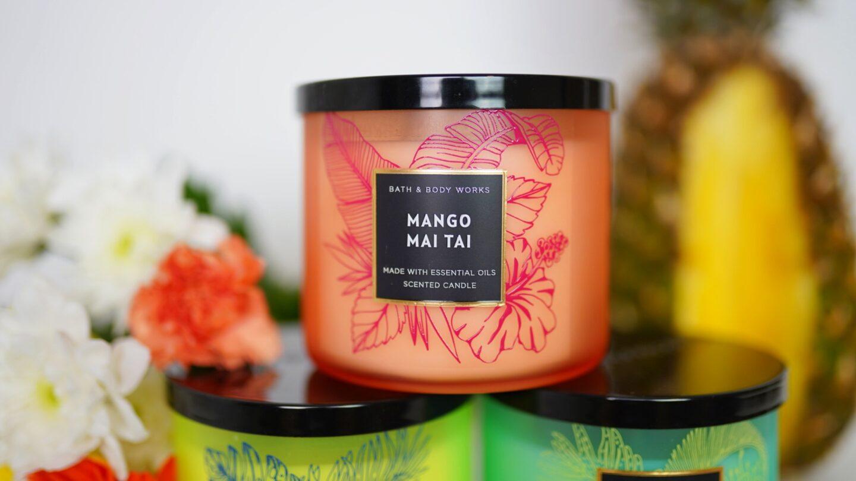 sviečka mango mai tai