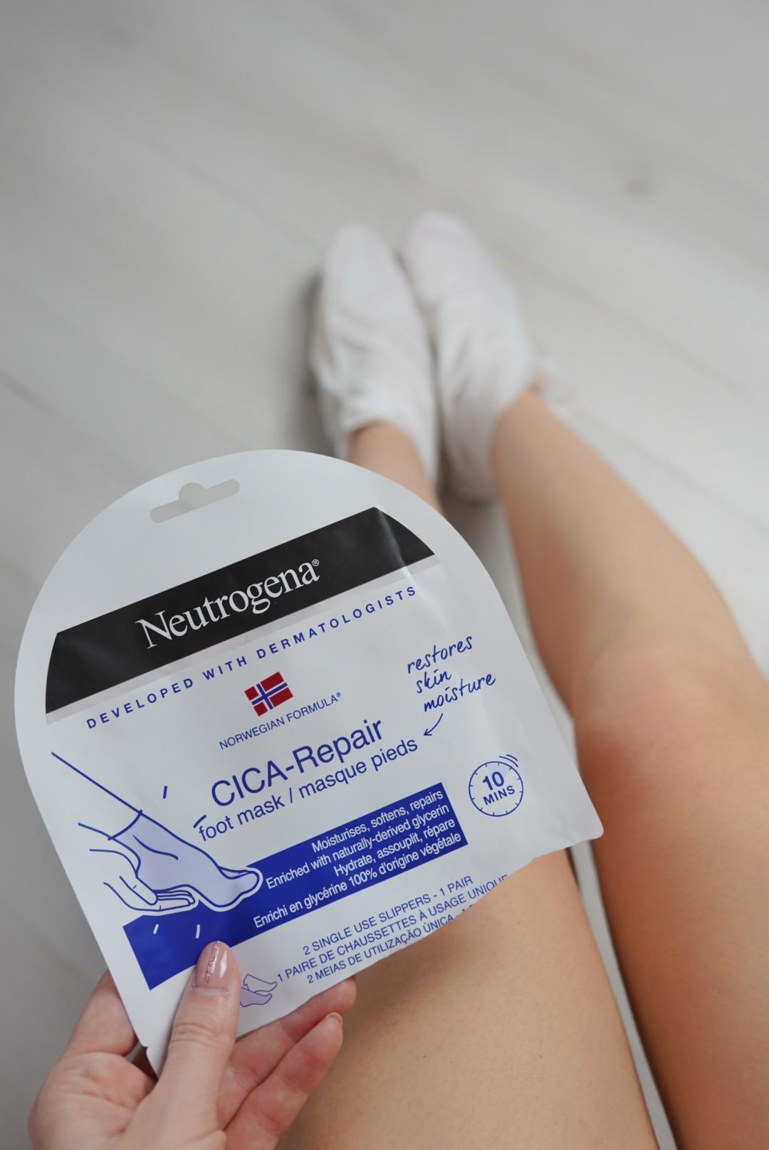 Neutrogena maska na nohy CICA repair
