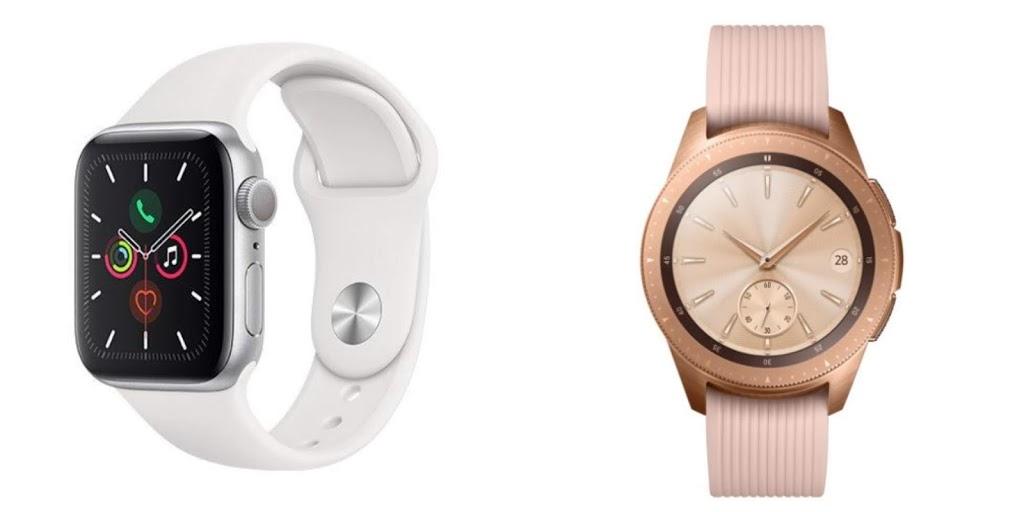 Smart hodinky dámske Apple watch Samsung Galaxy watch